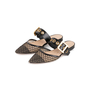 Authentic Second Hand Christian Dior D-Dior Mules (PSS-328-00065) - Thumbnail 3