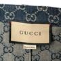 Authentic Second Hand Gucci Logo Jacquard Organic Washed Denim Shorts (PSS-328-00073) - Thumbnail 4