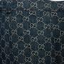 Authentic Second Hand Gucci Logo Jacquard Organic Washed Denim Shorts (PSS-328-00073) - Thumbnail 2