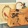 Vintage hermes kelly tattoo icon